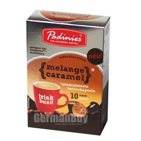Minges Padinies Melange Caramel Coffee Pods Capsules for Nespresso