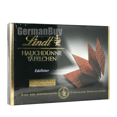 Lindt Specialties Swiss Chocolate Thins Finest Bitter Chocolate, from Germany