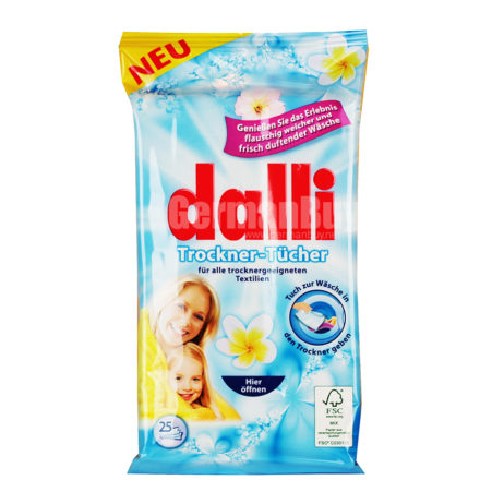 dalli Dryer Sheets Fabric Softener
