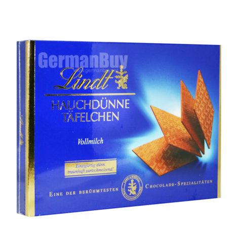 Lindt Specialties Swiss Chocolate Thins Finest Milk Chocolate , from Germany