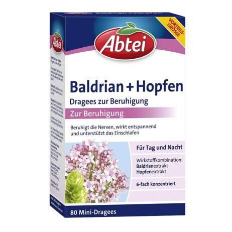Abtei Night Dragees Valerian + Hops (extra strong)