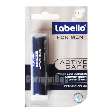 LABELLO For Men Active Care Provitamin B5 Stick SPF 15 MADE IN GERMANY