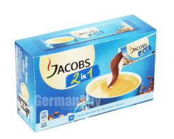 Jacobs Coffee 2 in 1, Sticks, Jacobs coffee with creamer, from Germany