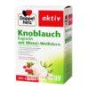 DOPPELHERZ Active Garlic with Mistletoe and Hawthorn - 480 gastro-resistant cps