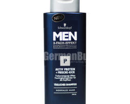 Schwarzkopf Men Shampoo P Active Protein + Fresh Kick triple power for hair roots scalp