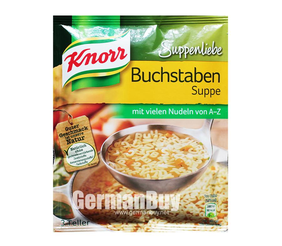 Knorr alphabet soup
