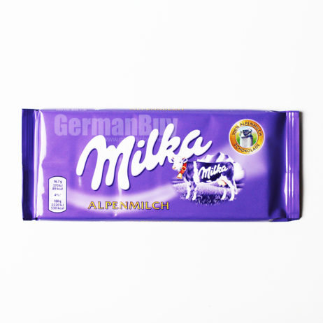 Milka Alpine Milk Chocolate Bar, from Germany