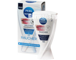 Perlweiss Toothpaste Smoking Teeth Whitening from Germany