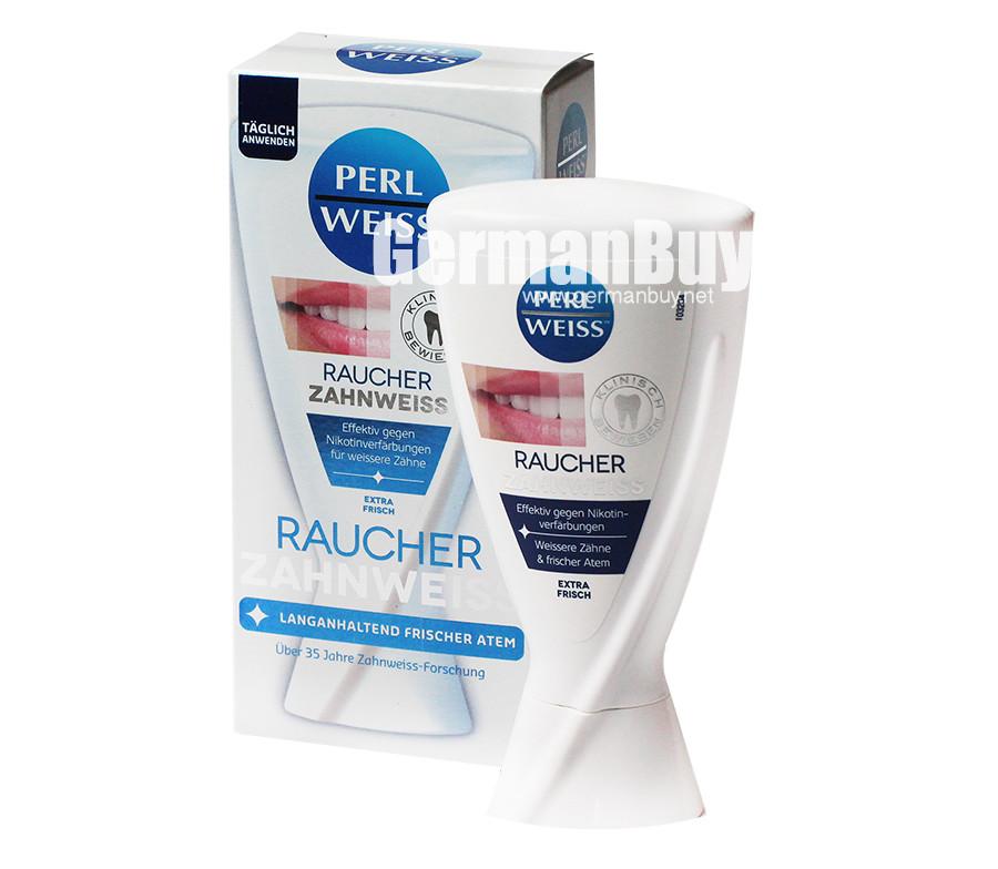 Perlweiss Toothpaste Smoking Teeth Whitening Buy German