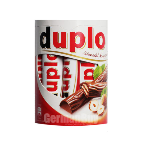 Ferrero Duplo Wafers with Hazelnut Cream , from Germany