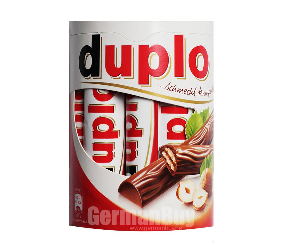 Ferrero Duplo Wafers with Hazelnut Cream Bars | Buy German