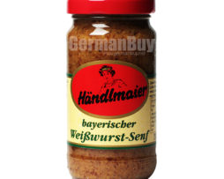 Händlmaier's Original Bavarian Weisswurst Sweet Mustard from Germany