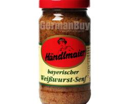 Händlmaier's Original Bavarian Weisswurst Sweet Mustard from Germany