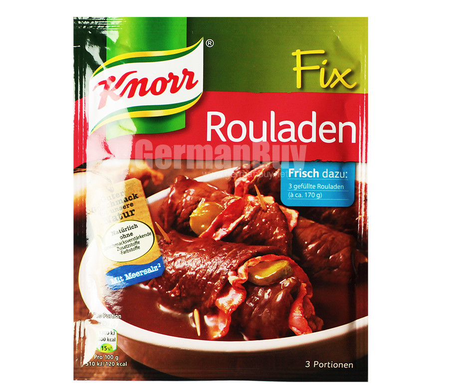 Knorr Fix For Roulades | Buy German | {Knorr fix 79}