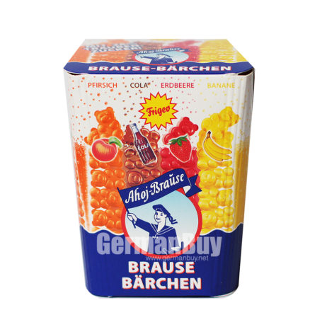 Frigeo Ahoj Brause Bears Fizzy Candy from Germany