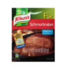 Knorr Fix Schmorbraten Mix, from Germany