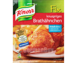 Knorr Fix Knuspriges Brathähnchen Crispy Fried Chicken Mix, from Germany
