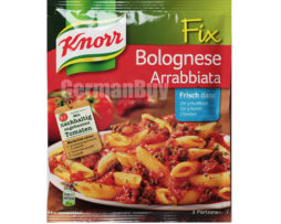 Knorr Fix Bolognese Arrabbiata Mix , from Germany