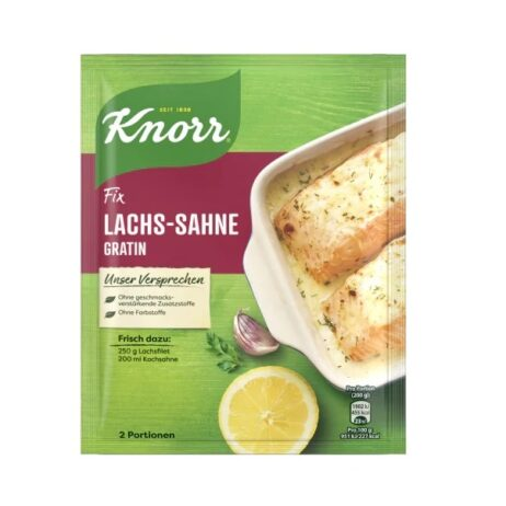 Knorr Fix for Creamy Salmon Gratin