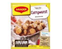 Maggi Fix for Currywurst