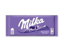 Milka Alpine Milk Chocolate Bar