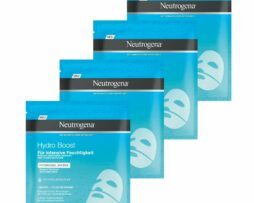 4x Neutrogena Hydro Boost Hydrogel Mask With Hyaluronic Acid for Intense Hydration