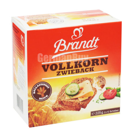 Brandt Zwieback Wholemeal Rusks