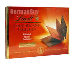Lindt Specialties Swiss Chocolate Thins Finest Selection Chocolate, from Germany