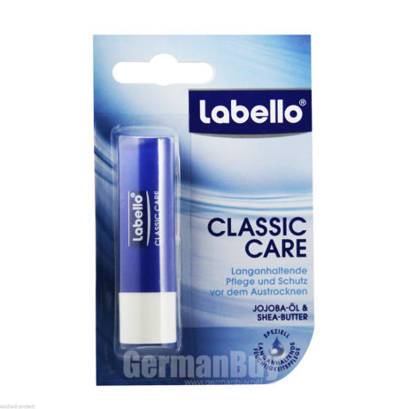 Labello Classic Classic Care Lip Balm Stick from Germany
