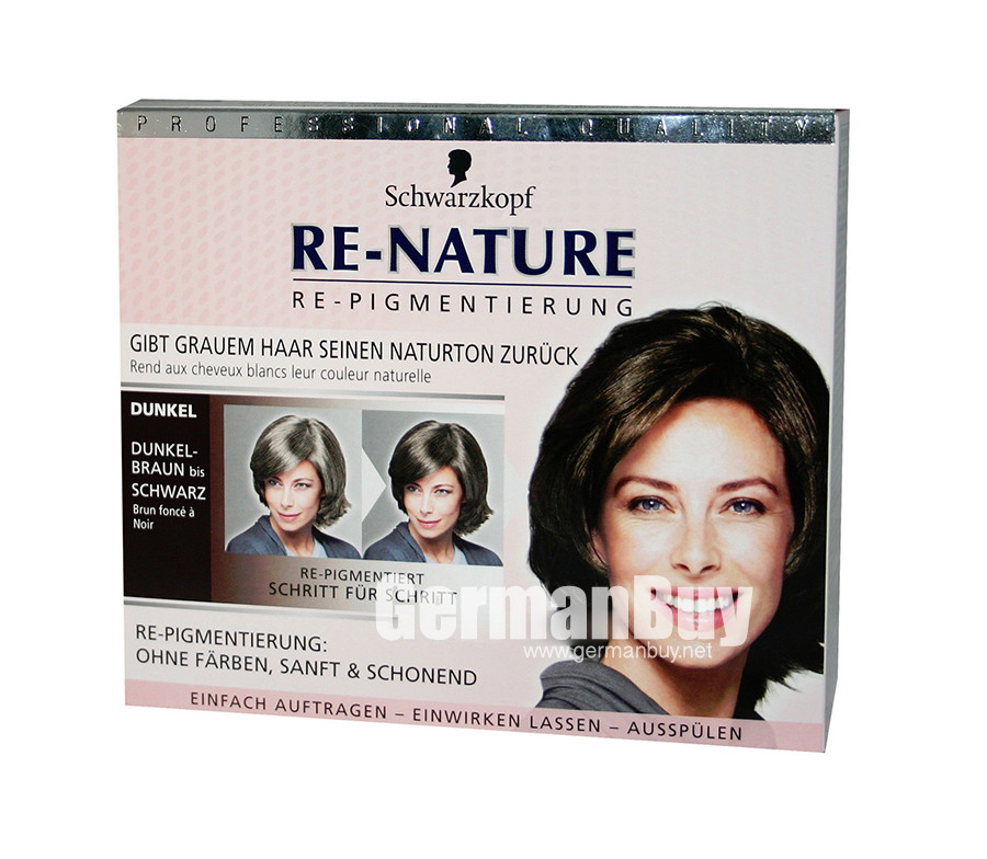 Schwarzkopf Re Nature Anti Gray Hair Womens Natural Coloring