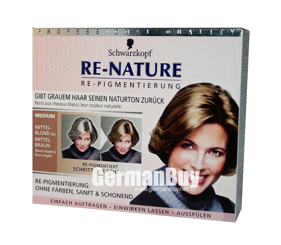 Schwarzkopf Re Nature Anti Gray Hair Womens Natural Coloring