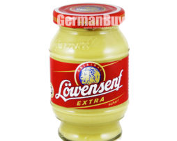 Lowensenf Extra Hot Mustard from Germany