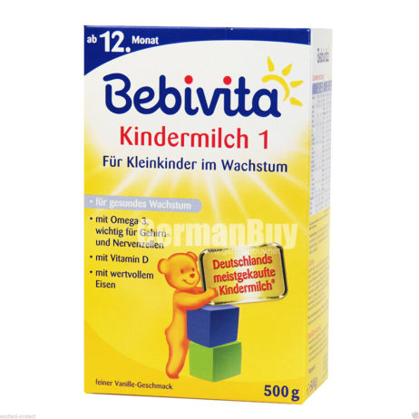 Bebivita Kids Milk 1 Powder For Infants in the growth, from 12. month, from Germany