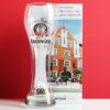 Erdinger Weissbrau Bavaria White Beer Pint Glass 0.5 Liter from Germany