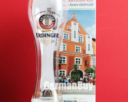 Erdinger Weissbrau Bavaria White Beer Pint Glass 0.5 Liter from Germany
