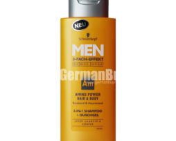 Schwarzkopf Men Am Amino Hair & Body 2-in-1 Hair Shampoo and Shower Gel, from Germany