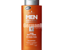 Schwarzkopf Men T Taurin Power & Energy Triple Power Hair Shampoo, from Germany