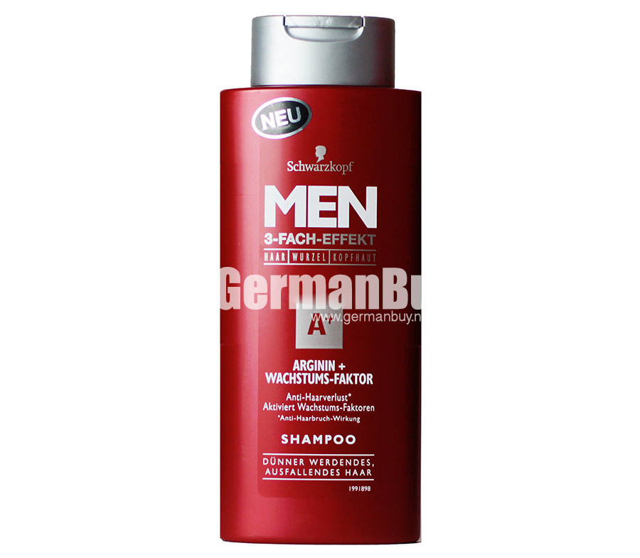 Schwarzkopf Men A Arginine Growth Factor Triple Power Hair