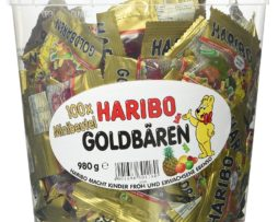 Haribo Gold Bears / Goldbären, 100 Mini Bags, 980g