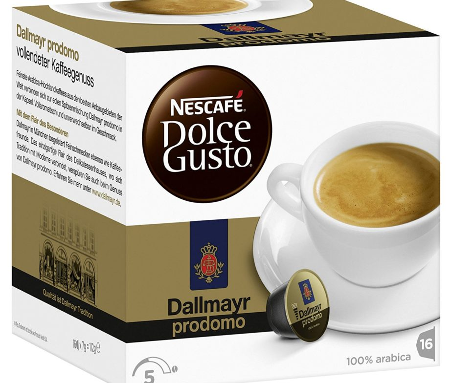 nescafe dolce gusto coffee capsules dallmayr prodomo buy german. Black Bedroom Furniture Sets. Home Design Ideas