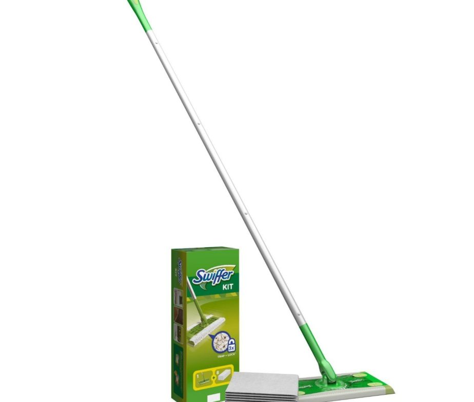 Swiffer Sweeper Mop Starter Kit + 8 Dry Sweeping Cloths