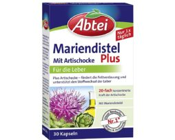 Abtei Milk Thistle Oil Capsules With Artichoke And Vitamin E