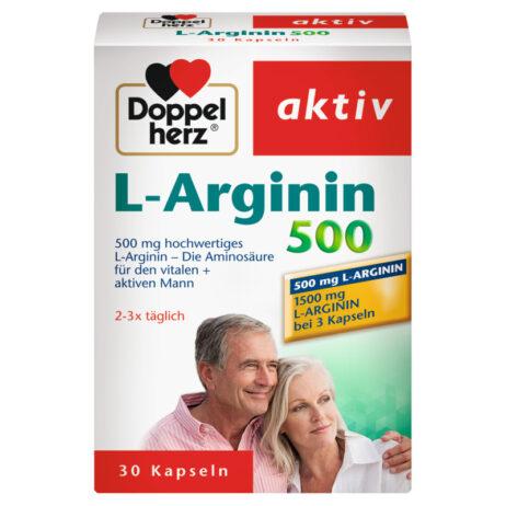 Doppelherz L-Arginin 500