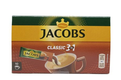 Jacobs 3 in 1 Instant Coffee, Sticks