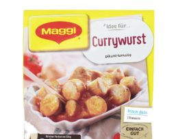 Maggi Fix Currywurst, Instant seasoning mix for Currywurst