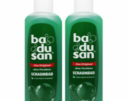2 x Badusan The Original Revitalizing German Foam Bubble Bath 750ml / 25.3 fl.oz