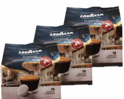 Lavazza Caffè Crema Classico Italian Coffee Pods