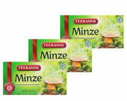 3x Teekanne Mint Peppermit Tea Minze Herbal Tea Bags