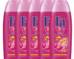5x Fa Kids Mermaid Shower Gel & Shampoo From Germany
