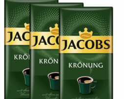 Jacobs Kronung Coffee Original Fresh German Ground Coffee